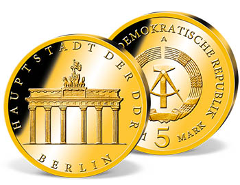 "5 Mark DDR  1971 ""Brandenburger Tor"""