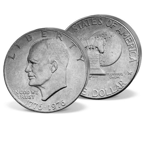 1 Dollar  Gedenkmünze Dwight D. Eisenhower DE_2507725_1
