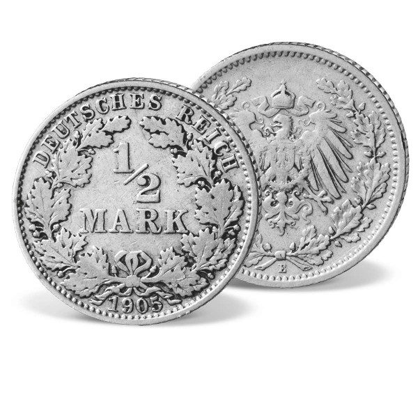 "Silber-Originalmünze ""1/2 Mark 1905-1919"" DE_2612462_1"