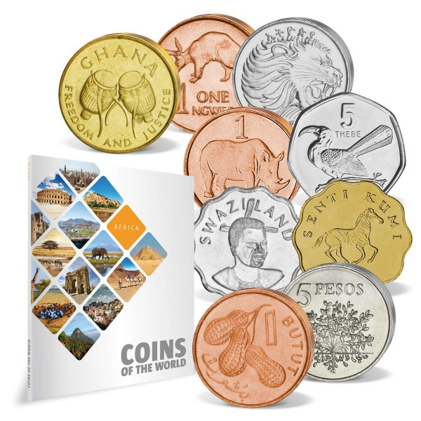 "43er Komplett-Set ""Coins of the World - Afrika"" DE_8811008_1"