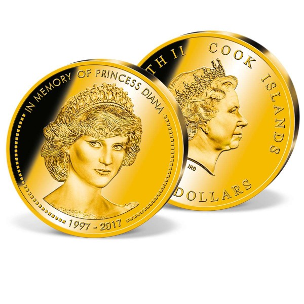 "Goldmünze 5 Dollar ""Lady Diana"" DE_1739069_1"