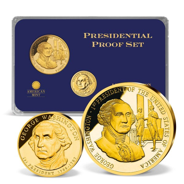 Dollar Set US Präsident George Washington DE_1705000_1