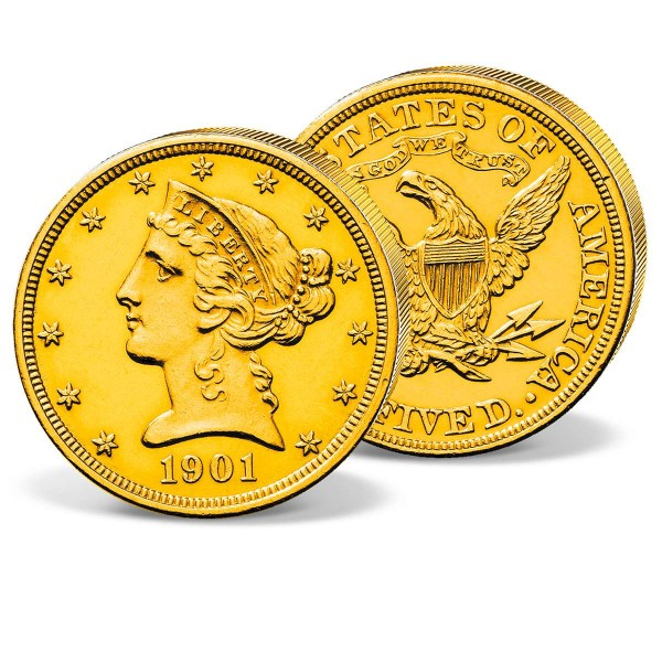 "5 Dollar USA ""Liberty Head 1901"" DE_2711392_1"