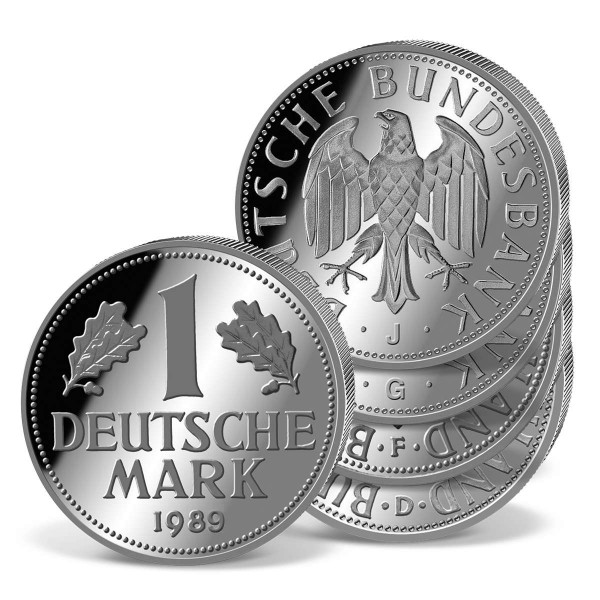 1 Deutsche Mark 1989 (D/F/G/J) DE_1560392_1