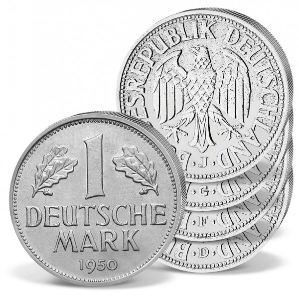 1 Deutsche Mark 1950 (D/F/G/J) DE_1560034_1